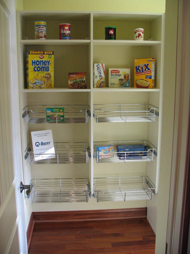 walk in pantry shelving systems photo - 5