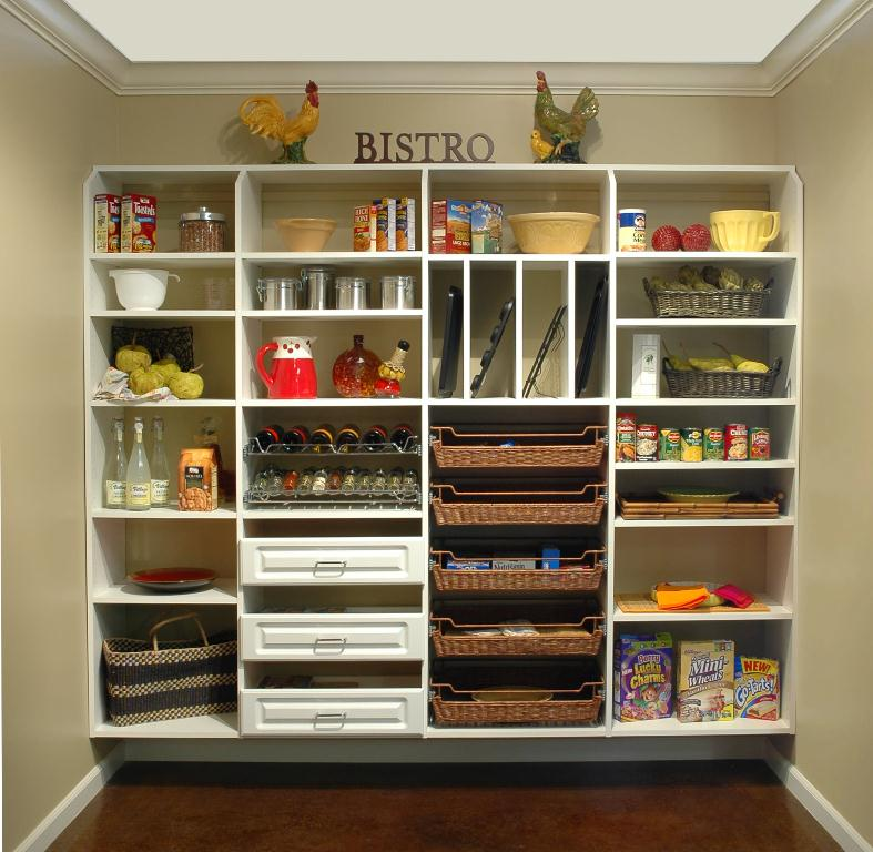 walk in pantry shelving systems photo - 7