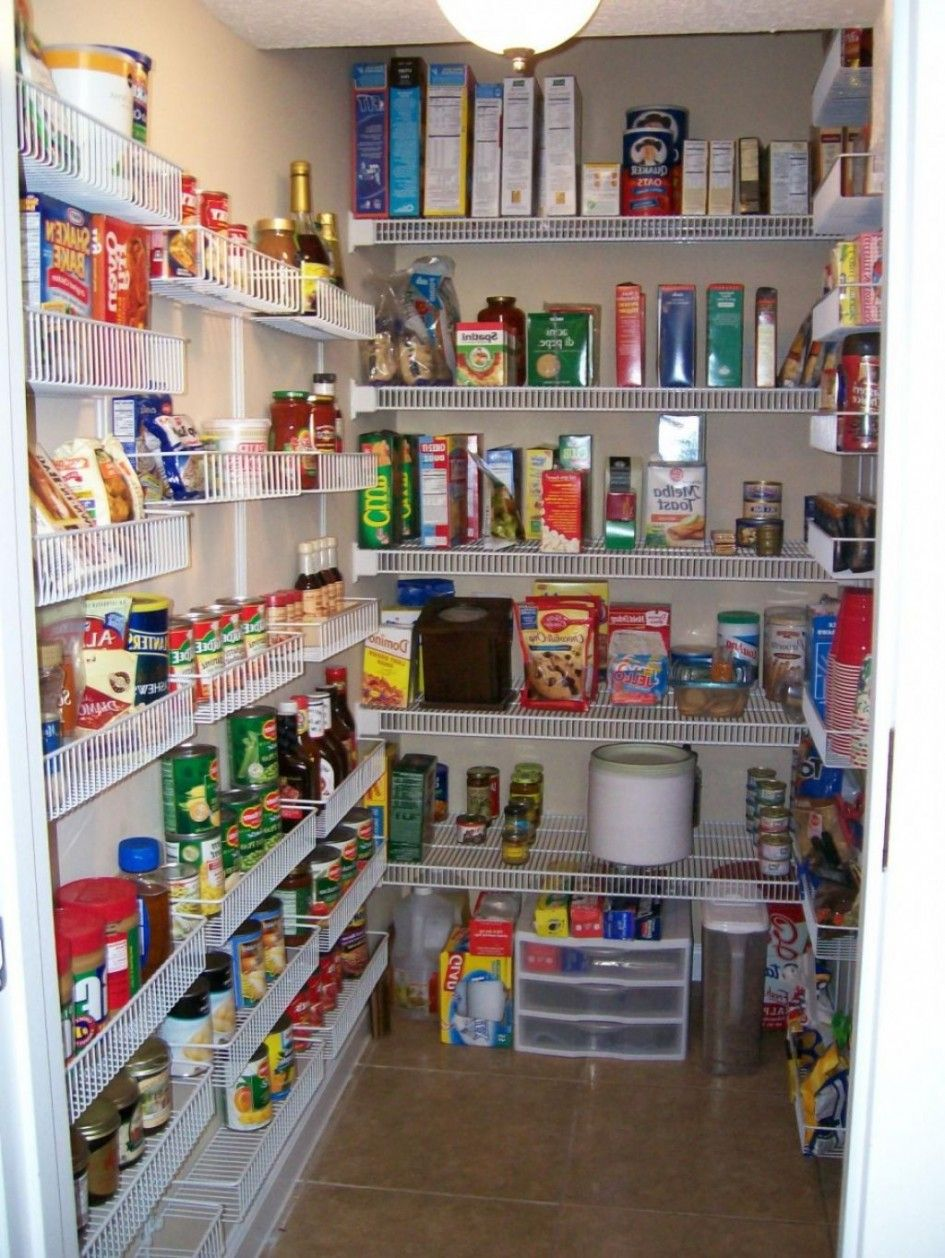 walk in pantry shelving systems photo - 9