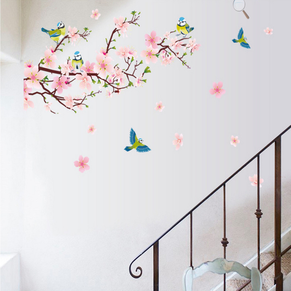 wall decor stickers flowers photo - 1