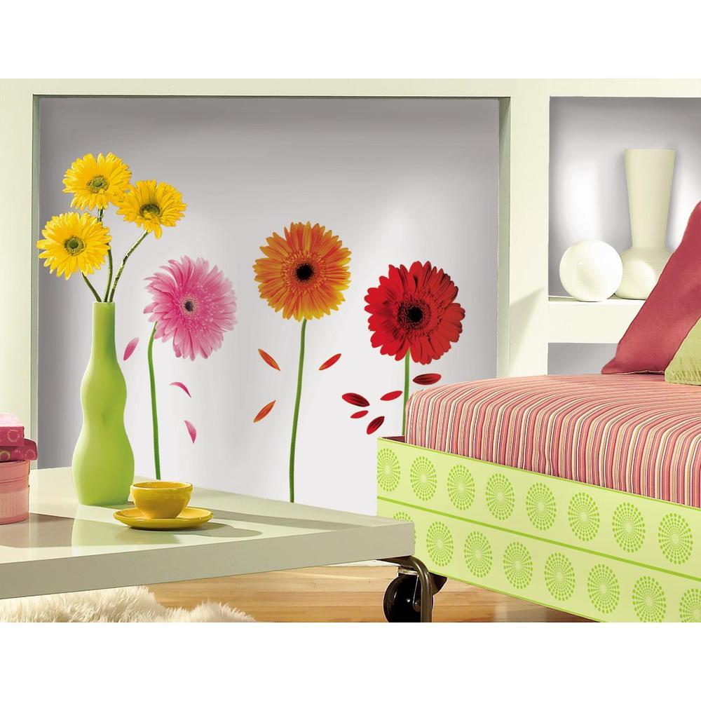 wall decor stickers flowers photo - 10