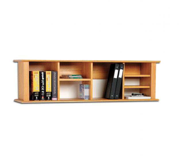 wall mounted desk hutch photo - 6