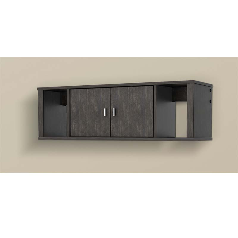 wall mounted desk hutch photo - 7