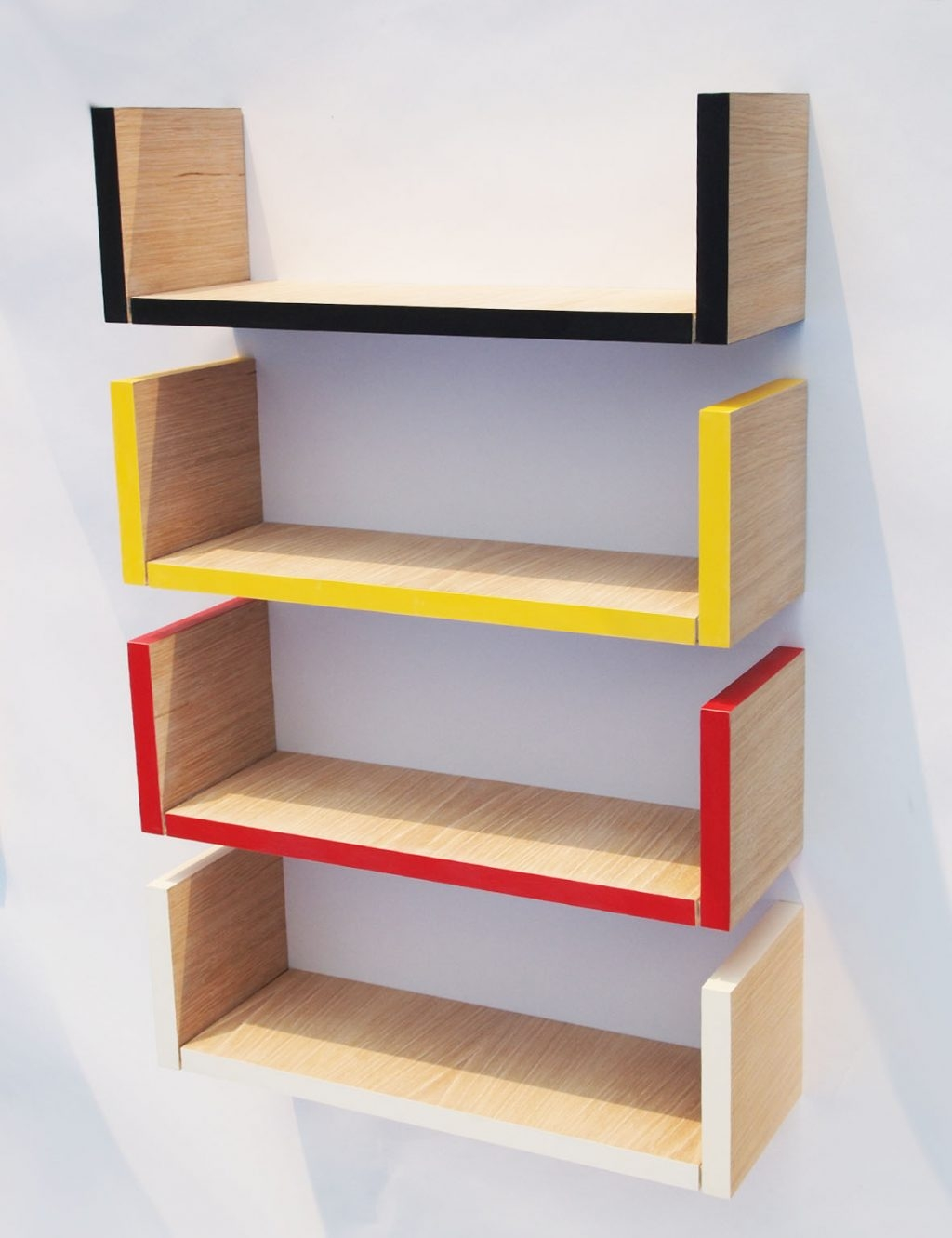 wall mounted shelves for books photo - 3
