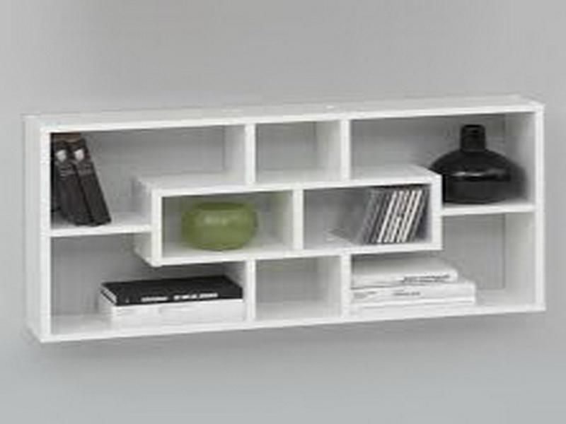 wall mounted shelves for books photo - 7