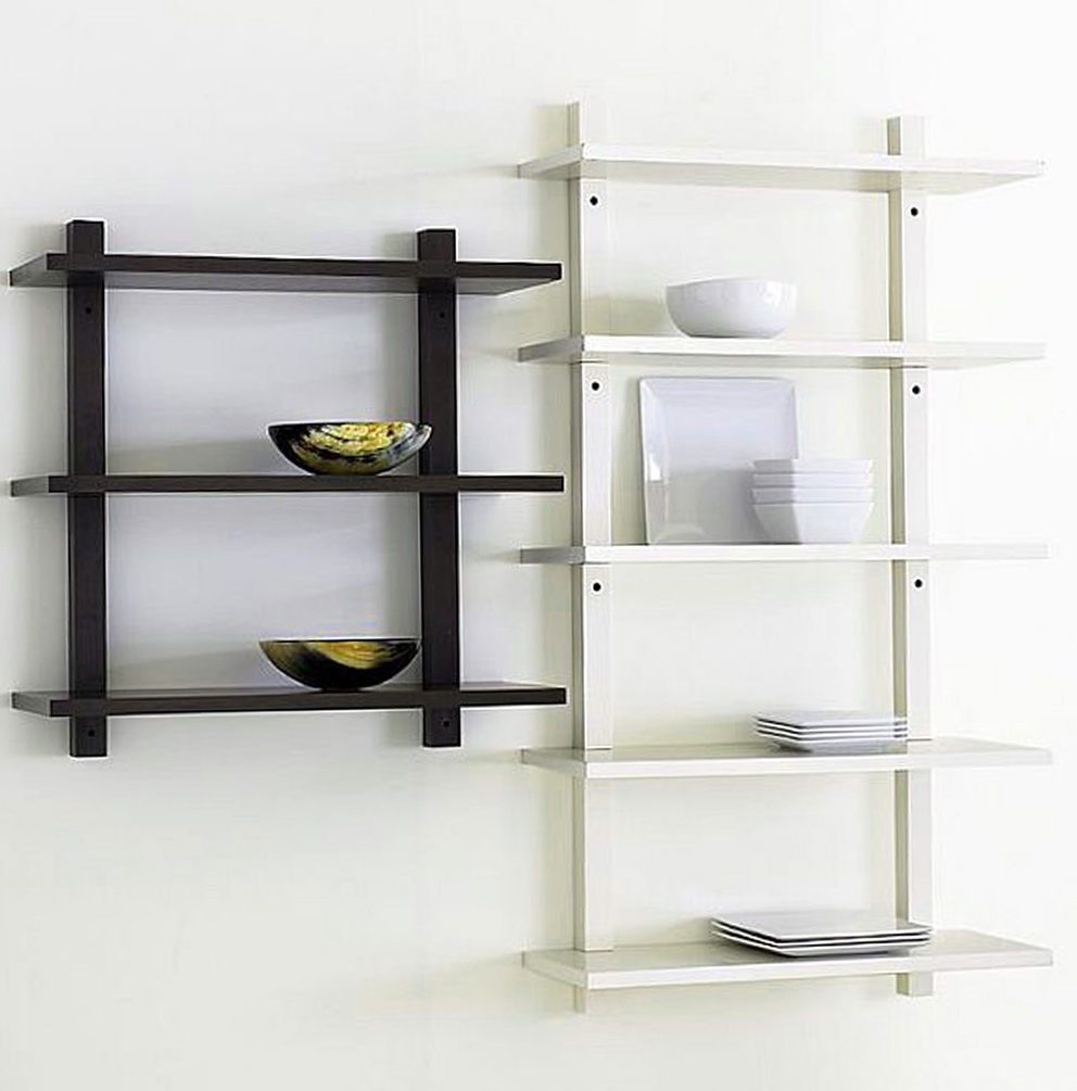 wall mounted shelves for kitchen photo - 1