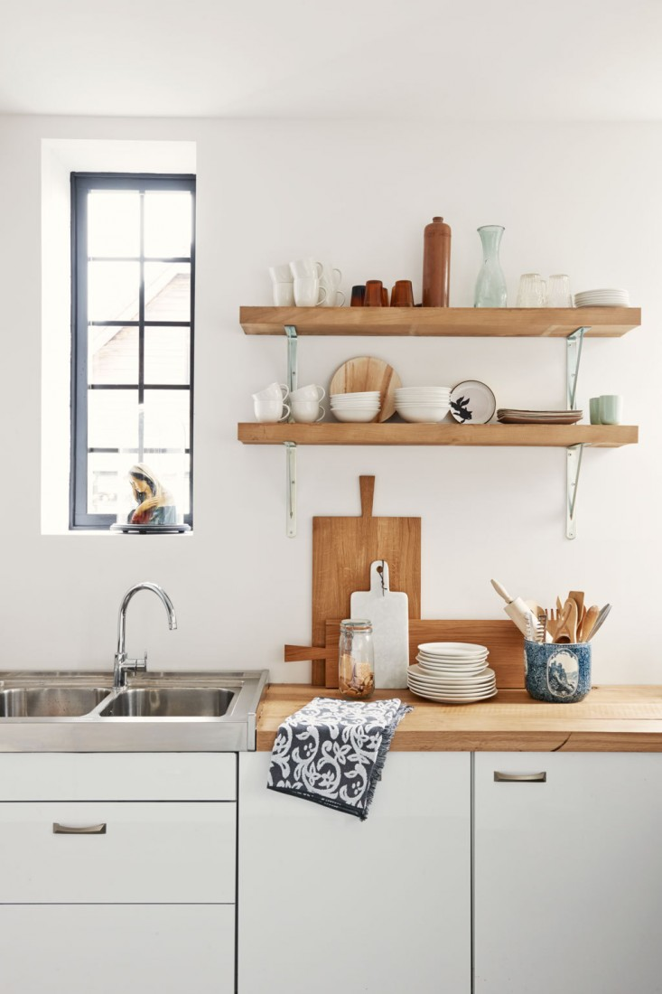 wall mounted shelves for kitchen photo - 6