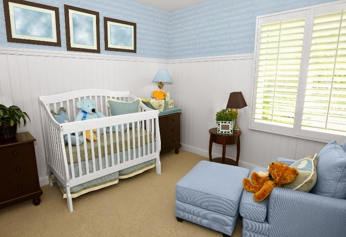 wall paint colors for nursery photo - 7