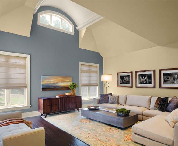 wall paint colors living room photo - 4