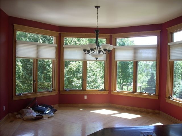 wall paint colors with oak trim photo - 1