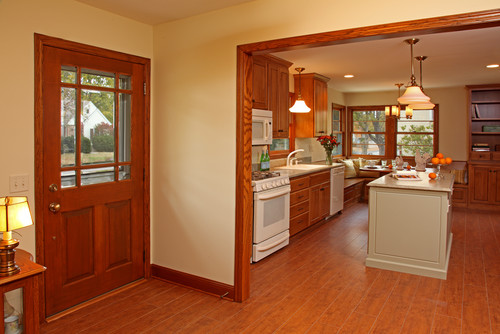 wall paint colors with oak trim photo - 9