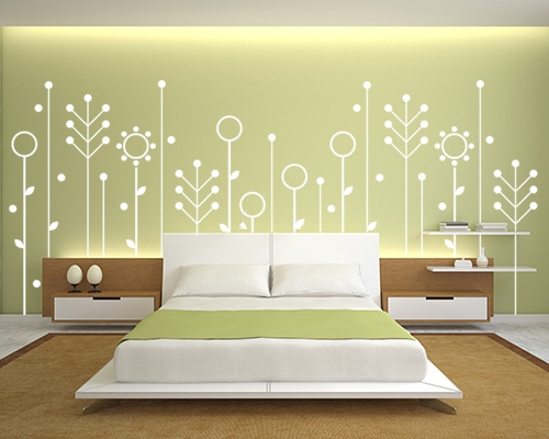 wall paint colours designs photo - 3