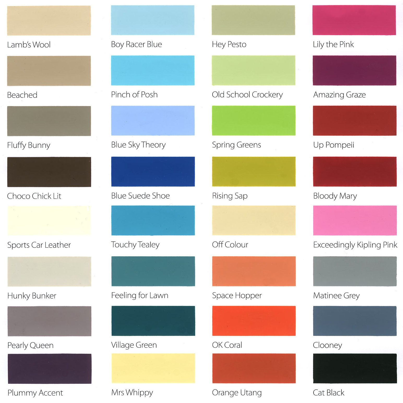 wall paint colours names photo - 4