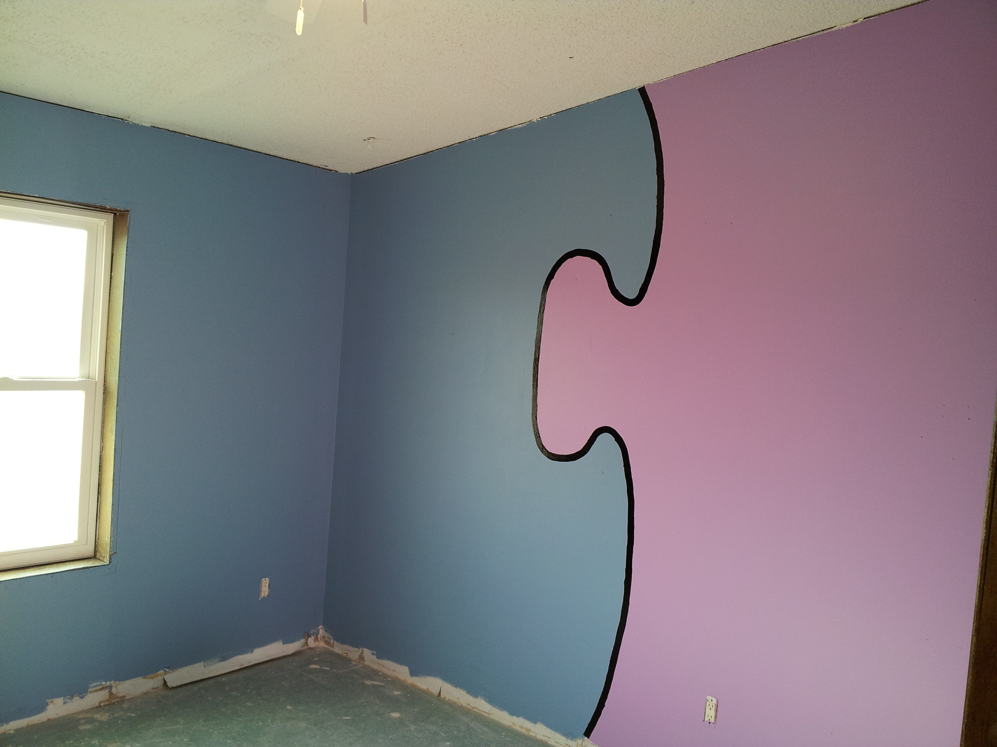 wall paint different color photo - 6