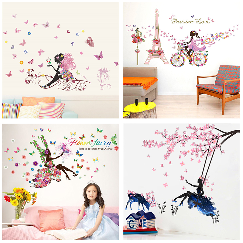 wall stickers flowers kids photo - 5