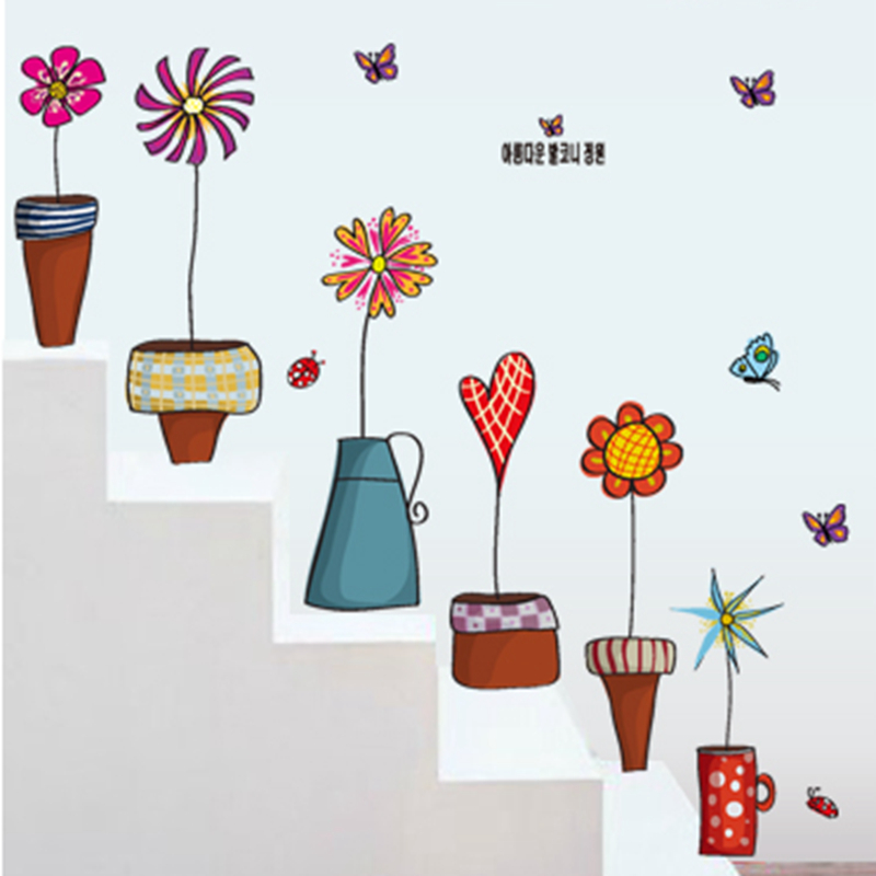 wall stickers flowers kids photo - 7