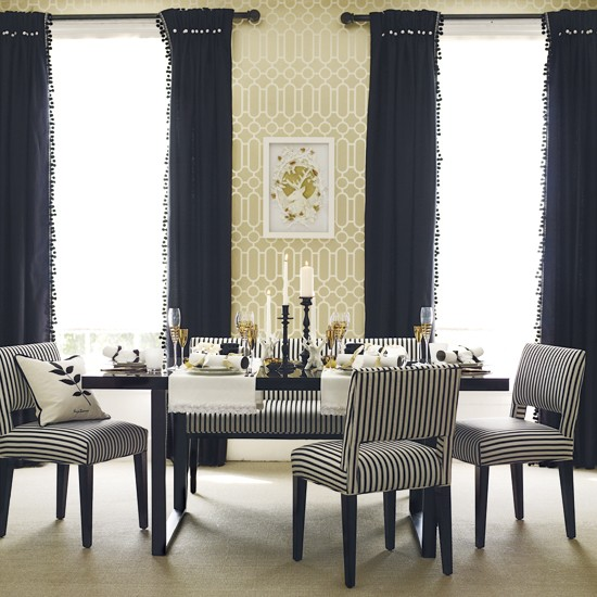 wallpaper for dining room modern photo - 2