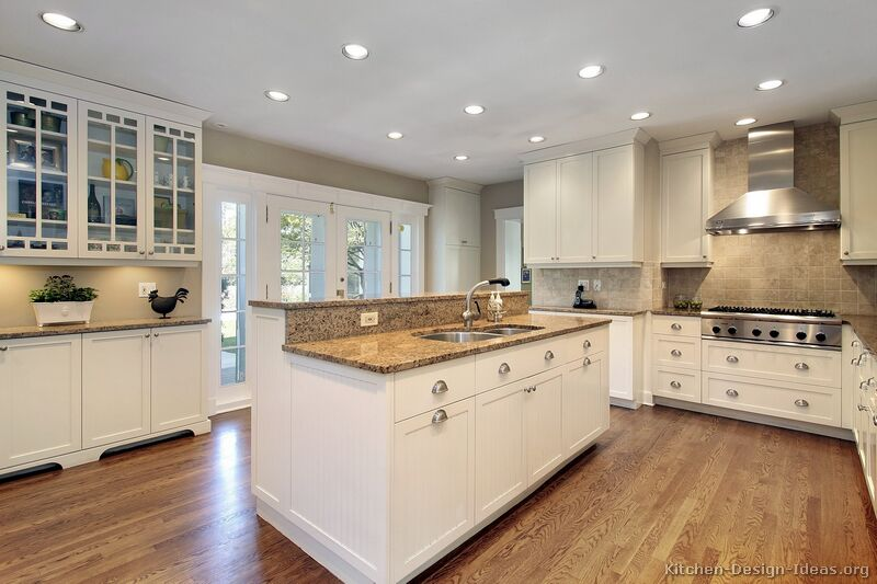 white kitchen cabinets design ideas photo - 10