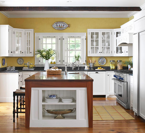 white kitchen cabinets design ideas photo - 4