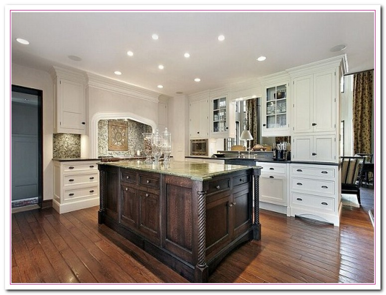 white kitchen cabinets design ideas photo - 5