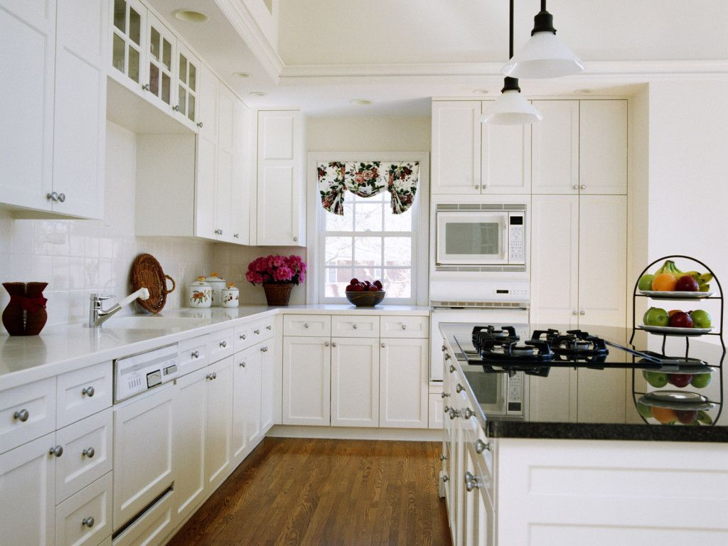 white kitchen cabinets design ideas photo - 7