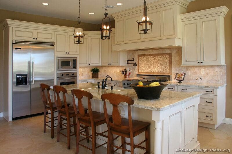 white kitchen cabinets design ideas photo - 9