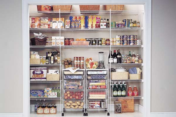 wire pantry shelving systems photo - 3