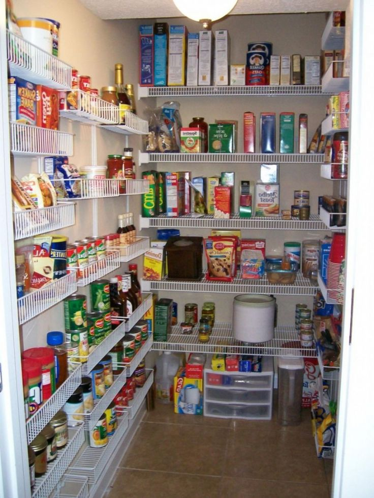 wire pantry shelving systems photo - 4
