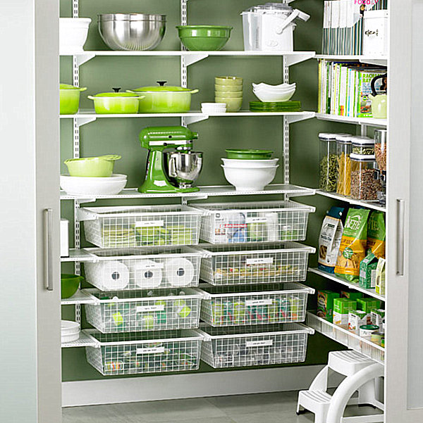wire pantry shelving systems photo - 6