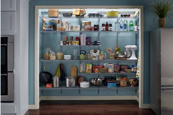 wire pantry shelving systems photo - 7