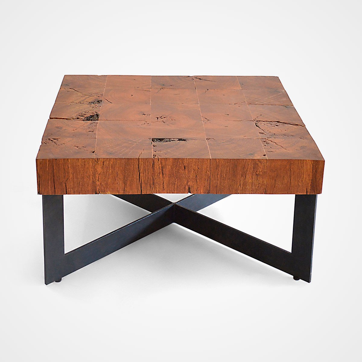 wood coffee table base only photo - 6