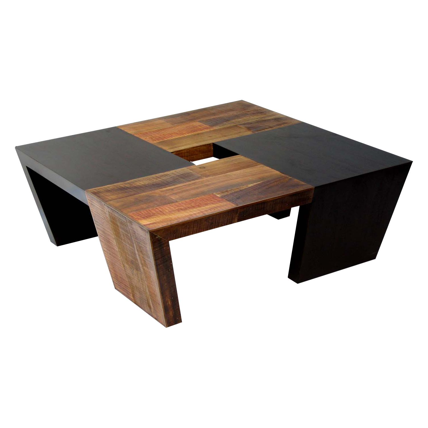 wood coffee table contemporary photo - 2