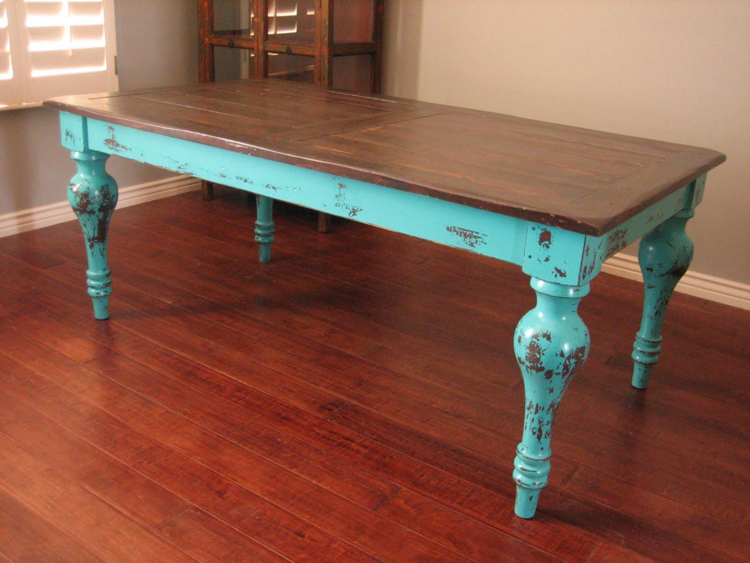 wood table design ideas pictures photo - 6
