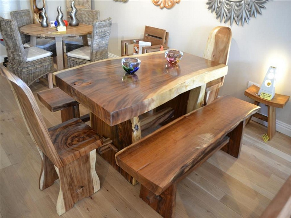 wood table design ideas pictures photo - 7