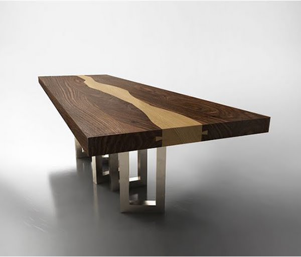 wood table design ideas pictures photo - 9