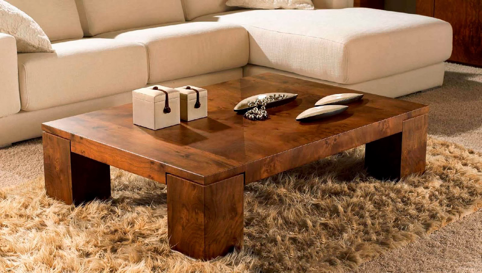 wooden coffee table design ideas photo - 4