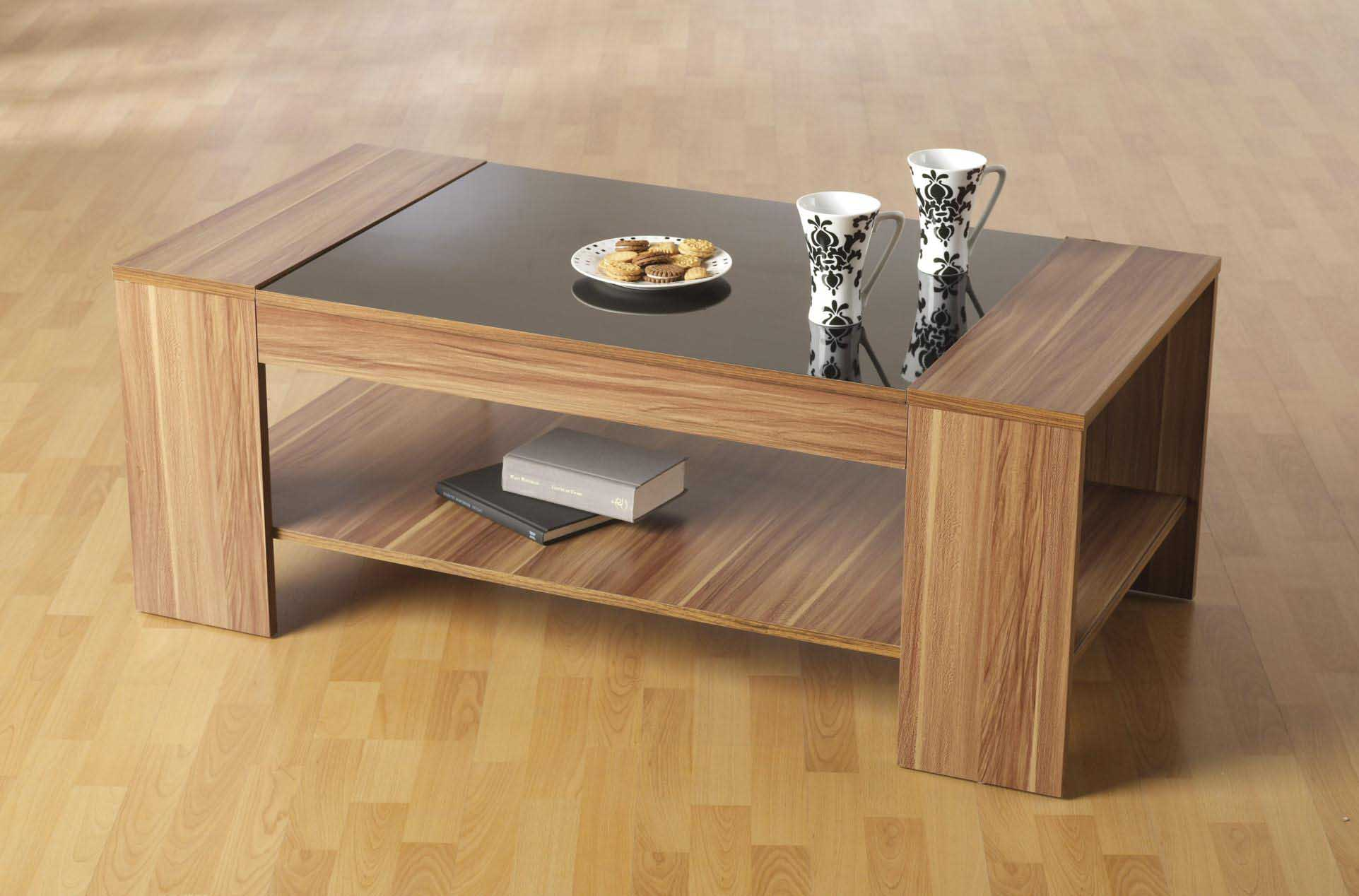 wooden coffee table design ideas photo - 7