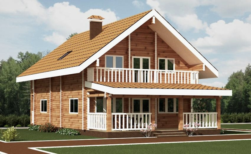 wooden country house plans photo - 10