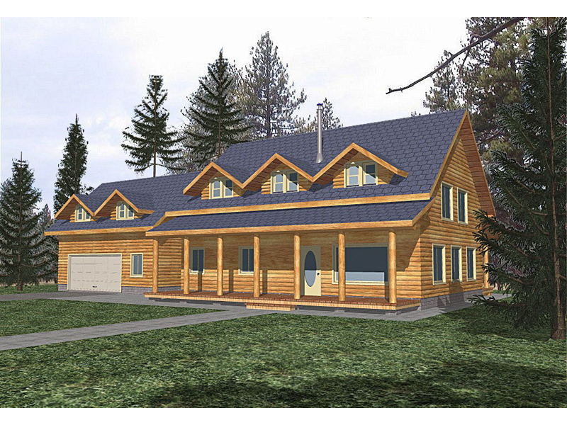 wooden country house plans photo - 5