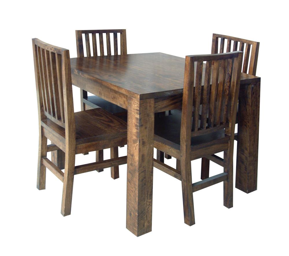 wooden dining tables and chairs photo - 2
