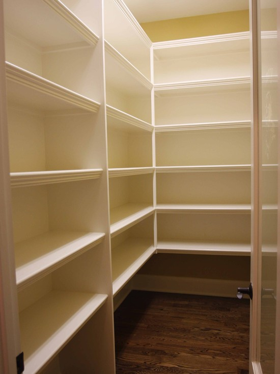 wooden pantry shelving systems photo - 8