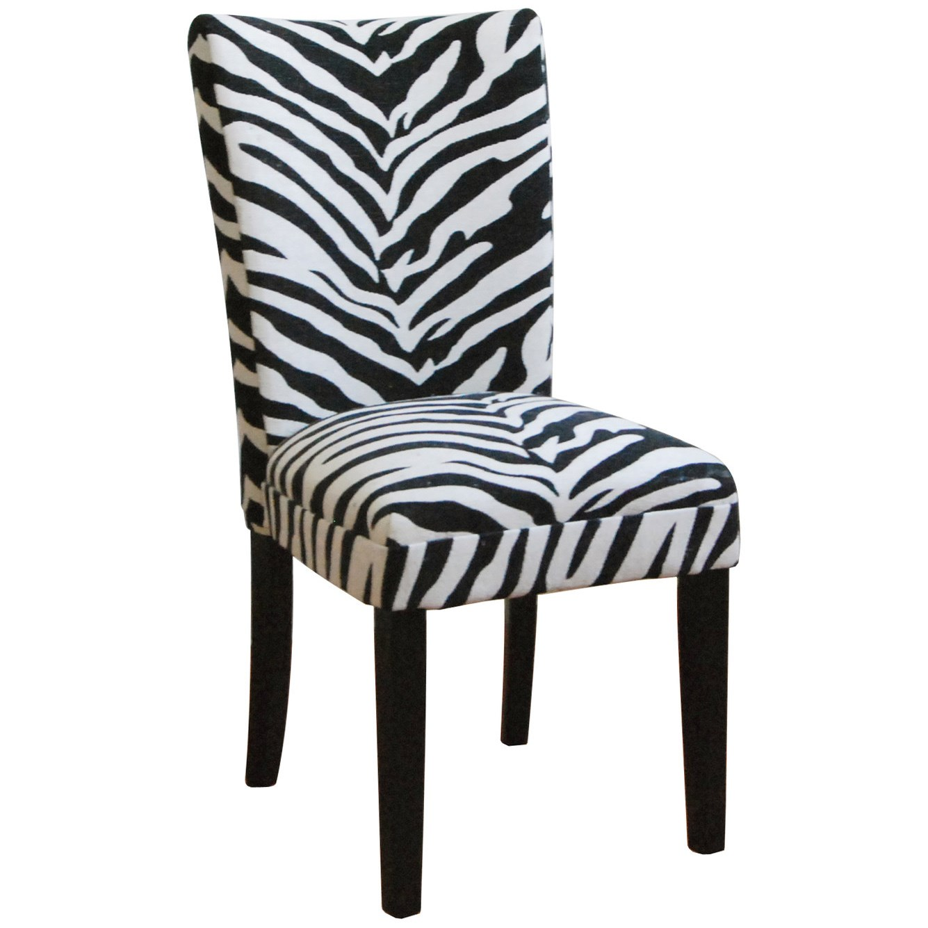 zebra kitchen chairs photo - 2