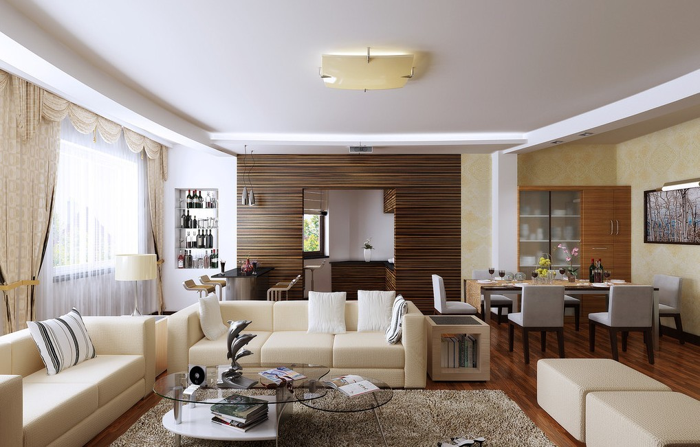Dining Room on a Living Room Design