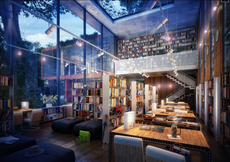 Modern Private Library