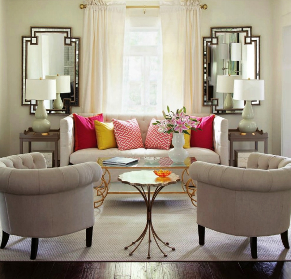 Perfect Symmetry Living Room
