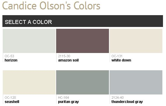 Candice olson bedroom paint colors