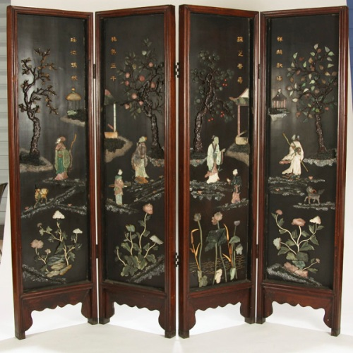 Chinese room dividers antique