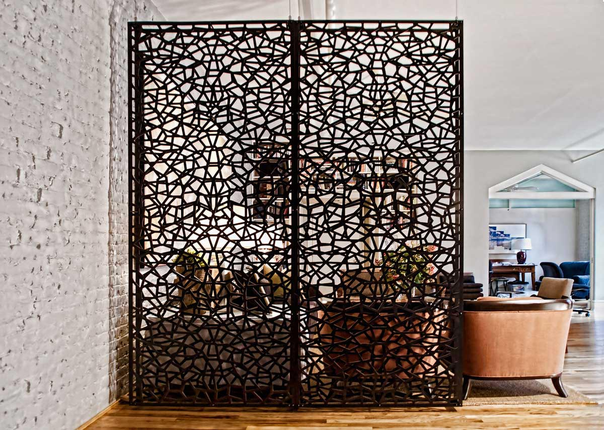 Creative room dividers for lofts