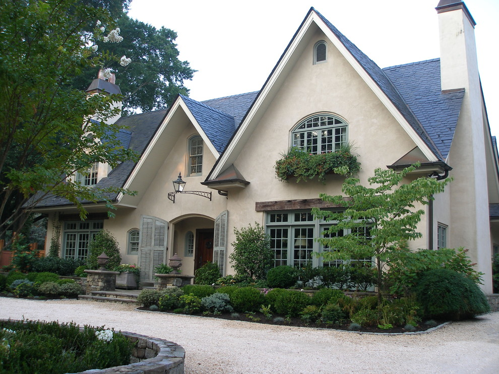 French country exterior ideas