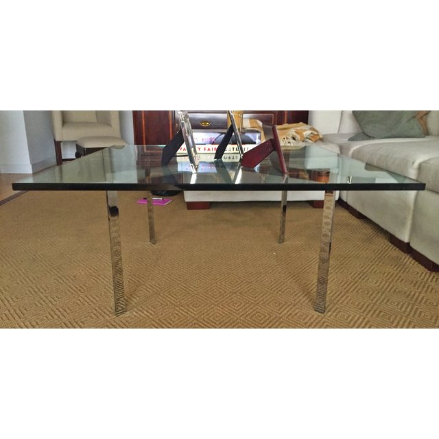 Glass coffee table design within reach